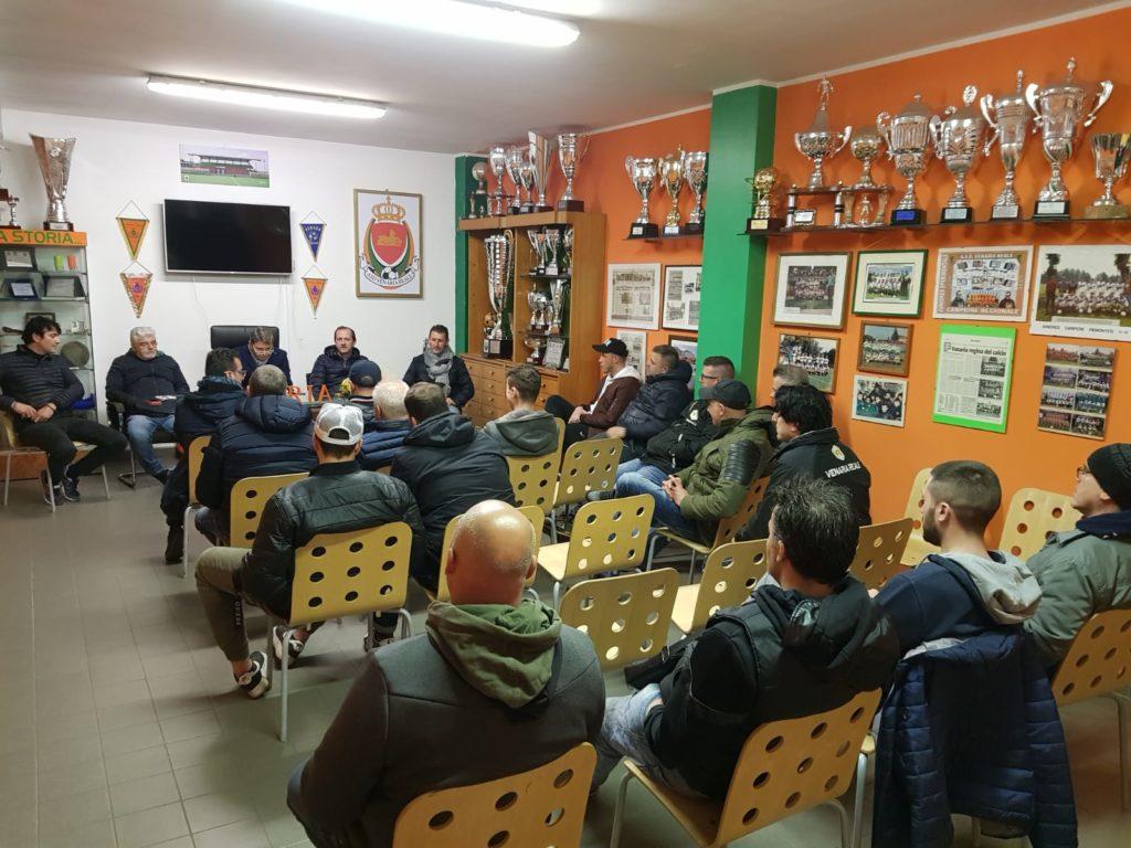 A.S.D. Venaria Reale – Programmazione stagione 2020/21: incontro con gli istruttori della Scuola Calcio