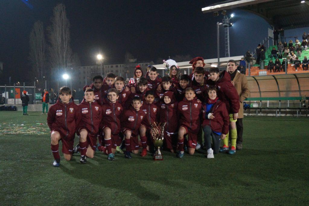14° CALCIO&CORIANDOLI / Il Torino trionfa nella categoria Under 13. L'Inter alza il trofeo Under 12 piegando il Chisola ai rigori