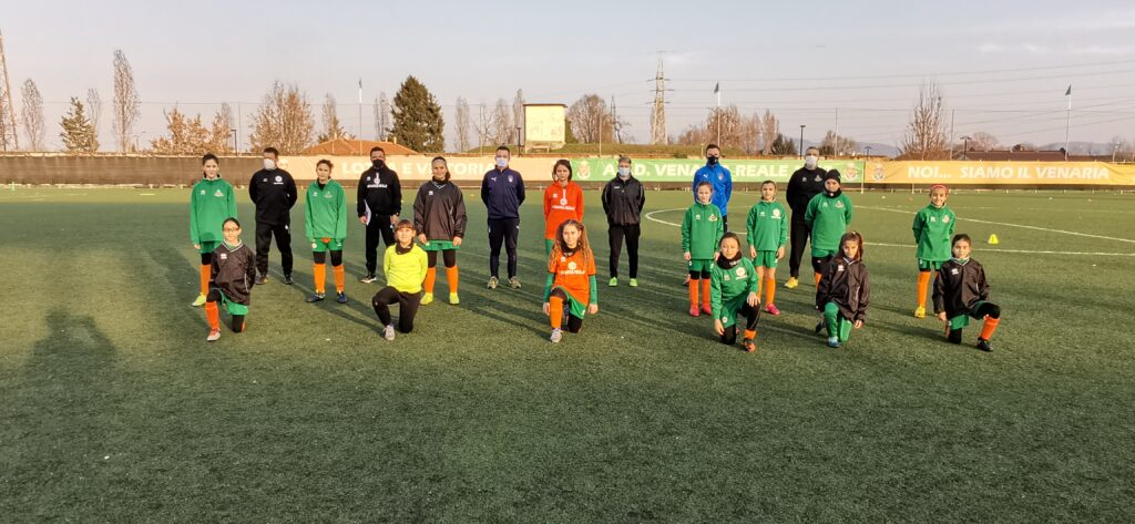 Tecnici Federali in visita al Don Mosso: allenamento speciale per la Scuola Calcio Élite della città di Venaria Reale